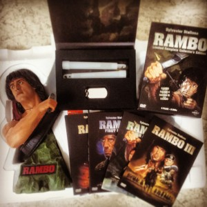 RAMBO Special DVD Box + 2 PowerKNIXS
